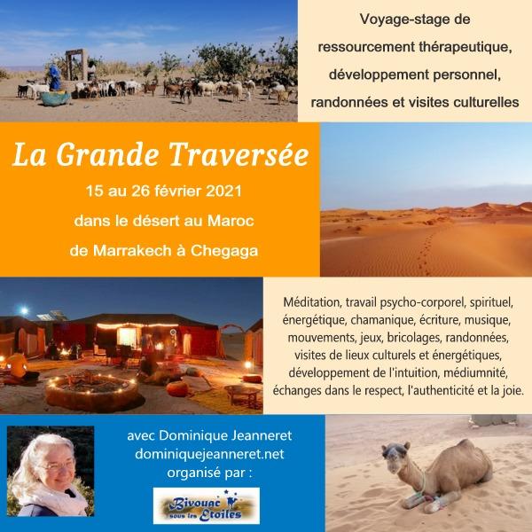 15 au 26 février 2021 : Voyage culturel et de ressourcement dans le désert au Maroc 12
